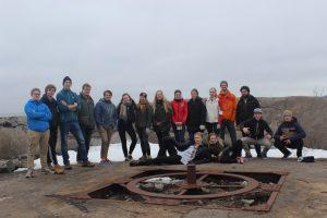 Deltakerne på Roverombudets BLÅTUR våren 2017
