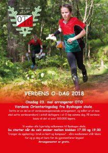 Verdens orienteringsdag @ Byskogen Ungdomsskole, Tønsberg