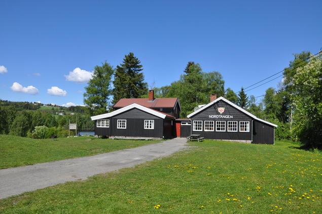 Fra Nordtangen Leirsted Foto: Haldis Østby
