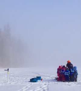 Vinterspeiding er UTE @ Merkedammen